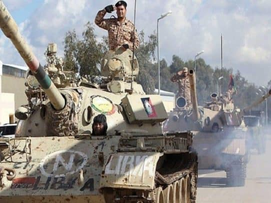 The Civil War in Libya - Interview with Fouad Khcheich